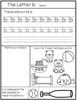 The Letter B - How I teach b direction