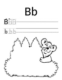 The Letter B activity