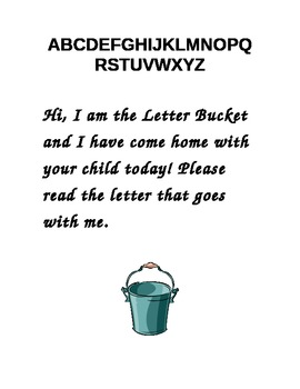 The Letter Bucket