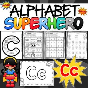 The Letter C Alphabet Superhero