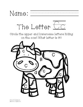 The Letter C Field Trip!