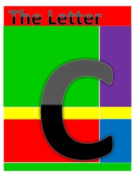 The Letter C coloring and worksheets