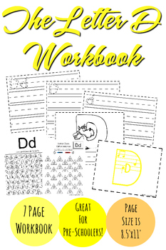 The Letter D Workbook