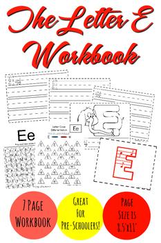 The Letter E Workbook