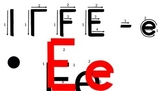 The Letter 'Ee'