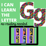 The Letter G  Boom™ Cards  No Reading Needed-digital