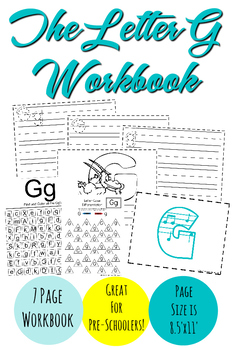 The Letter G Workbook