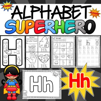 The Letter H Alphabet Superhero