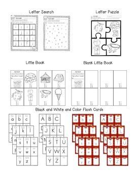 Alphabet Worksheets for the Letter I