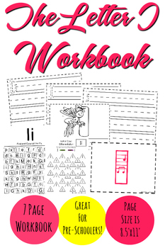The Letter I Workbook