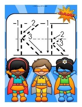 The Letter K Alphabet Superhero