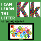 The Letter K  Boom™ Cards  No Reading Needed-digital