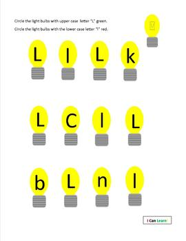 The Letter Ll by I CAN LEARN!