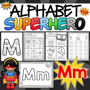 The Letter M Alphabet Superhero