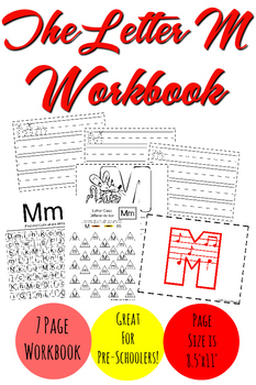 The Letter M Workbook