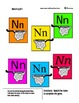 The Letter N - Alphabet Plus Basics - Create a book and More