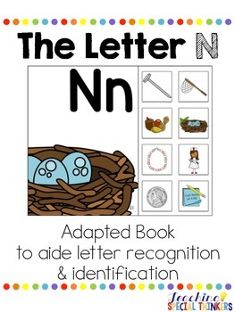 The Letter N Interactive Book