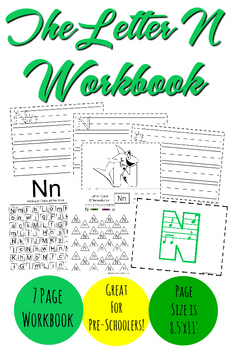 The Letter N Workbook
