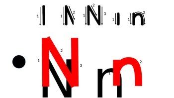 The Letter 'Nn'