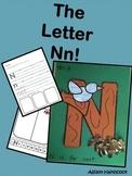 The Letter Nn- Craft & Worksheets!