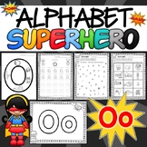 Alphabet Worksheets for the Letter O