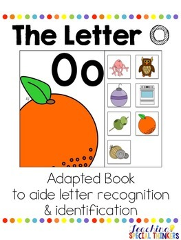 The Letter O Interactive Book