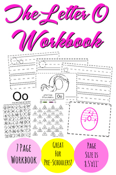 The Letter O Workbook