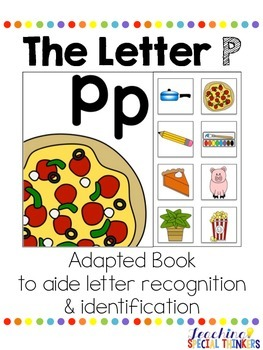The Letter P Interactive Book