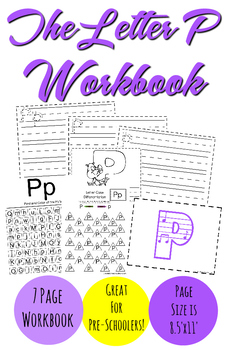The Letter P Workbook