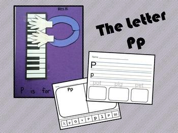 The Letter Pp- Craft & Worksheets!