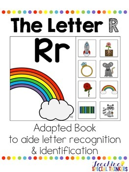 The Letter R Interactive Book