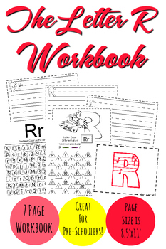 The Letter R Workbook