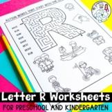 The Letter R Worksheets