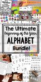 Preschool Alphabet Activities for Capital Letters
