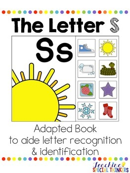 The Letter S Interactive Book