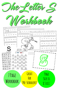 The Letter S Workbook