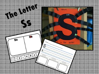 The Letter Ss- Craft & Worksheets!