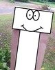 The Letter T Paper Bag Puppet Template