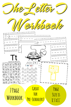 The Letter T Workbook