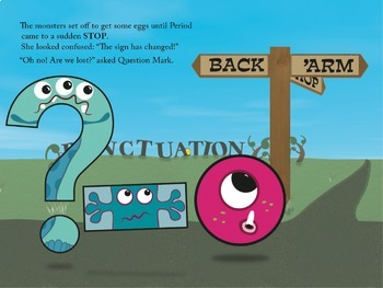 The Letter Thief - Fully Illustrated Punctuation Story