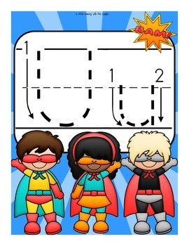 The Letter U Alphabet Superhero