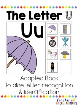 The Letter U Interactive Book