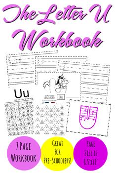 The Letter U Workbook