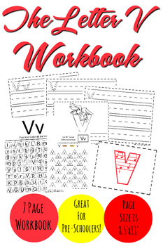 The Letter V Workbook