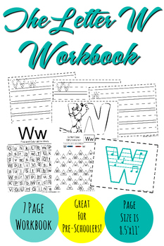 The Letter W Workbook