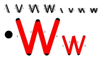 """The Letter 'Ww"""""""