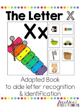 The Letter X Interactive Book