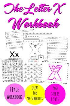 The Letter X Workbook