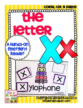The Letter Xx {a Hands-On Emergent Reader}