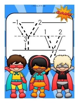 The Letter Y Alphabet Superhero